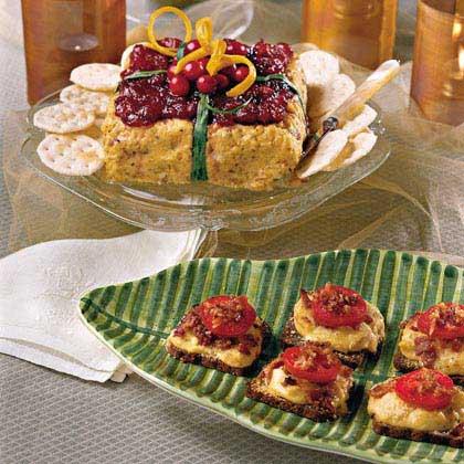 Cranberry-Cheese Box