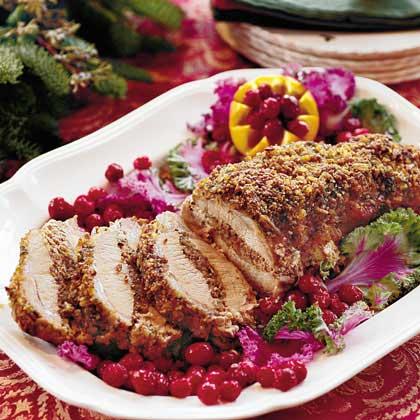 Festive Pork Loin Roast Recipe