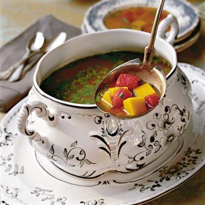 Butternut Squash-Lime Soup