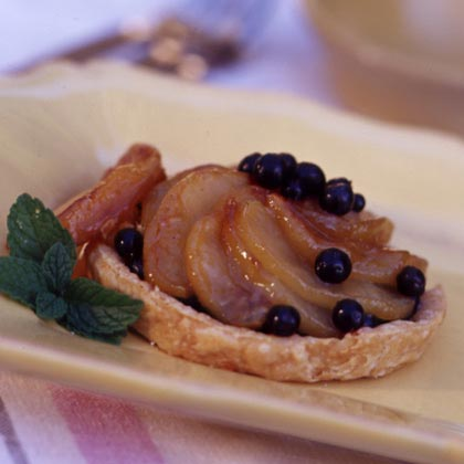 Apple-Huckleberry Tarts
