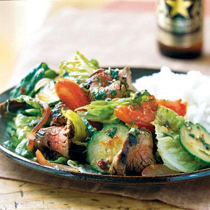 <p>Thai Beef Salad</p>