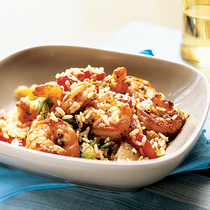 Cajun Shrimp and RiceRecipe