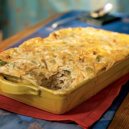 Green Chile-Chicken Casserole