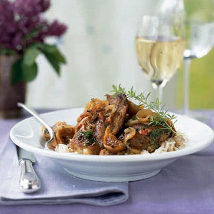 Chicken with Pancetta and Figs Recipe