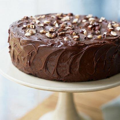 Darjeeling-Chocolate Layer Cake