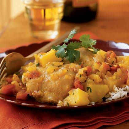 Colonel Benjamin's Curry Chicken