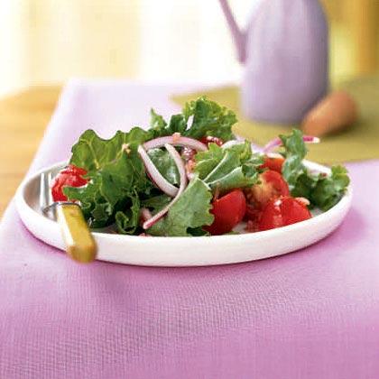 Simple Green Salad with Vinaigrette