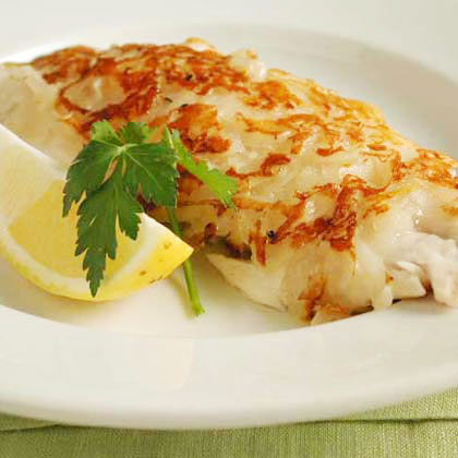 One Fish, Two Fish, Red Fish, Blue Fish: Potato-Crusted Red Snapper