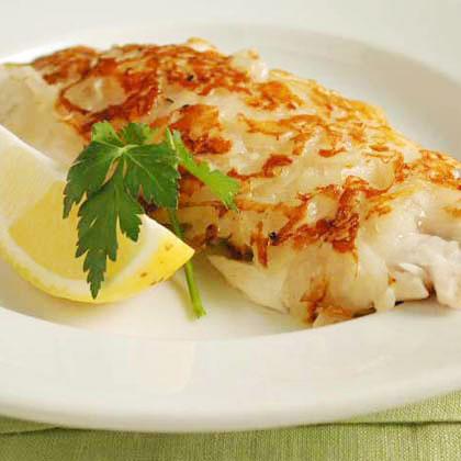 Potato crusted red snapper recipe myrecipes for Potato crusted fish