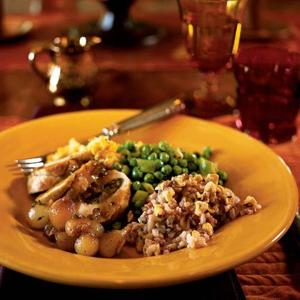 Wild Rice and Walnut Pilaf Recipe