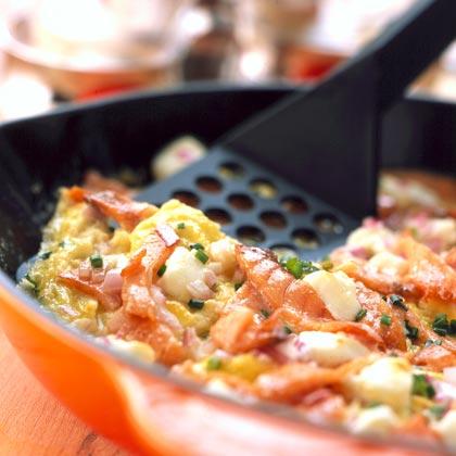 Smoked Salmon Frittata