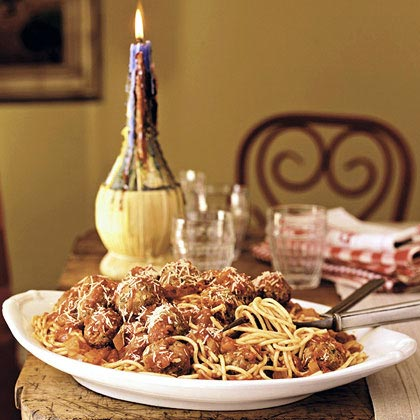 Spaghetti And Meatballs Recipe Myrecipes