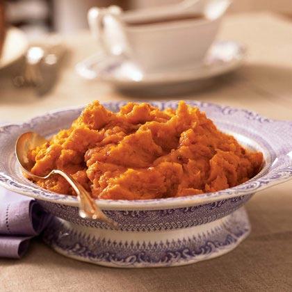 Mashed Honey-Roasted Sweet Potatoes