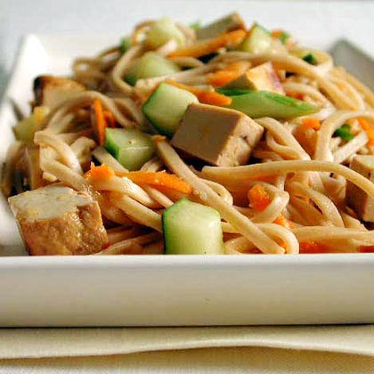 Udon Noodles with Sesame and TofuRecipe