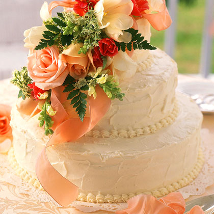 recipes of wedding cakes fresh orange wedding cake recipe myrecipes 19052