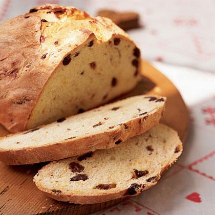Saffron and Raisin Breakfast Bread