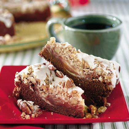 Chocolate-Cream Cheese Coffee Cake