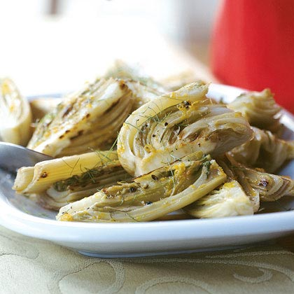 Braised Fennel with Orange Recipe | MyRecipes