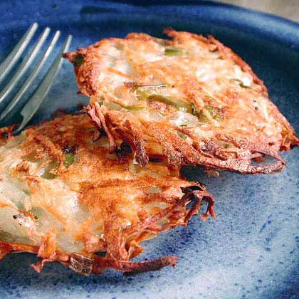 Crisp Potato Hash Browns Recipe