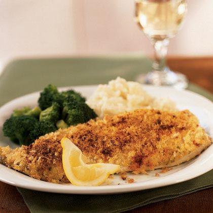 Mustard and Herb-Crusted TroutRecipe