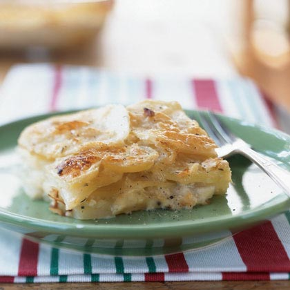 Potato-Gorgonzola Gratin