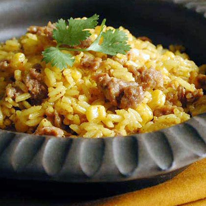 Southwest Sausage and Rice Recipe
