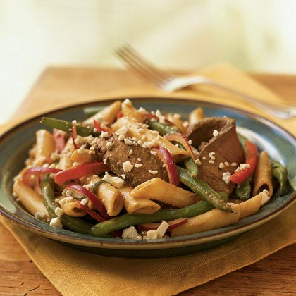 Sirloin Steak and Pasta Salad