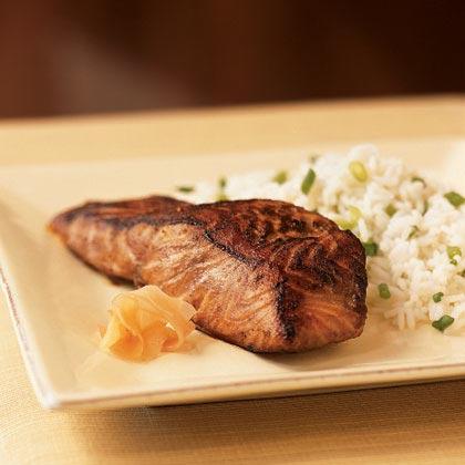 Wasabi Salmon Recipe