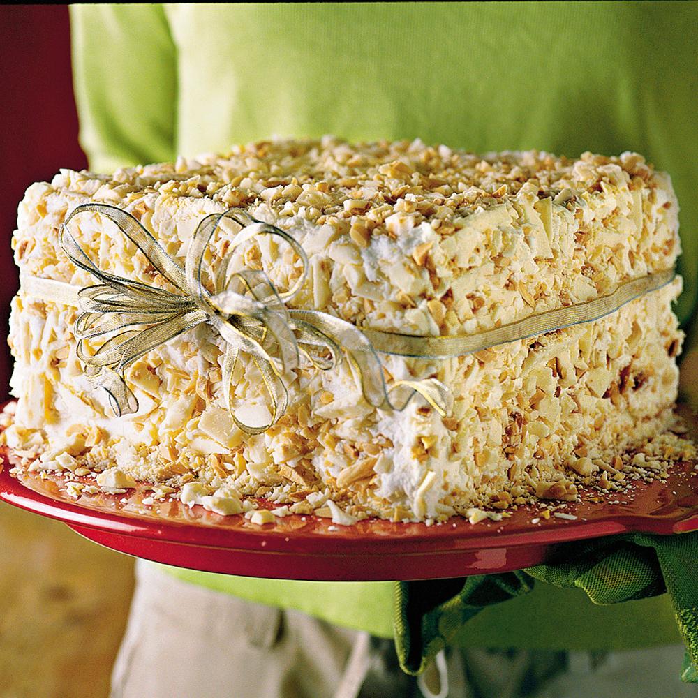 White Chocolate-Almond CakeRecipe