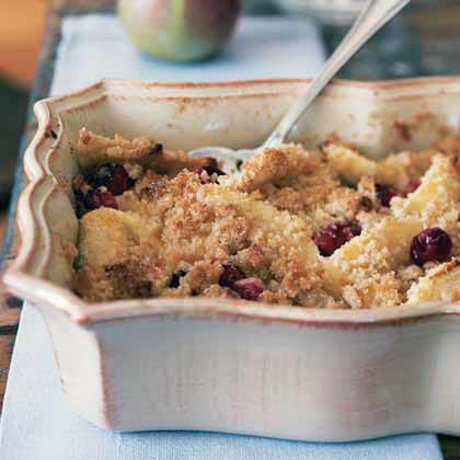 Cranberry and Apple Crumble Recipe - 1 | MyRecipes.com