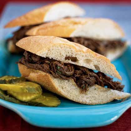 Barbecue Beef SandwichesRecipe