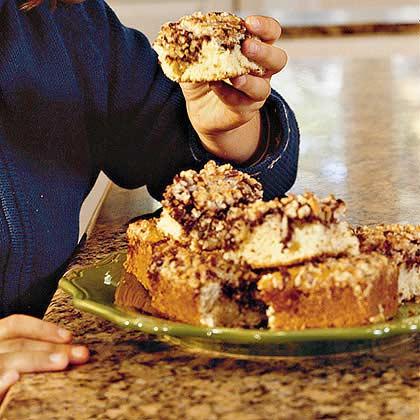 Chocolate-Swirl Breakfast Cake