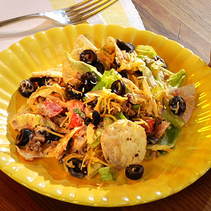 Three-Step Taco Salad