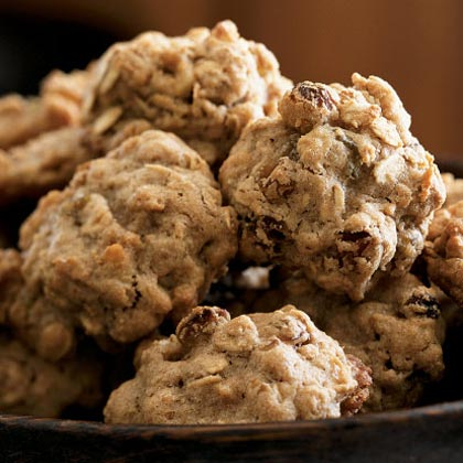 Oatmeal-Walnut Cookies