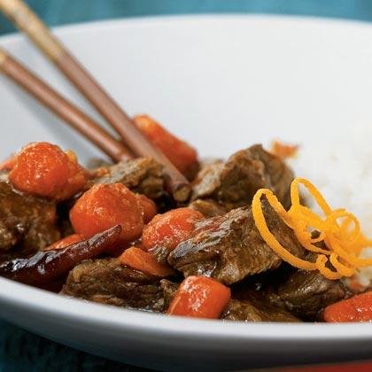 Spicy Orange BeefRecipe