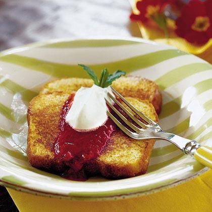 Pound Cake French ToastRecipe