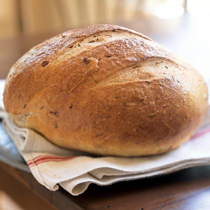 Hearty Sour Rye Bread