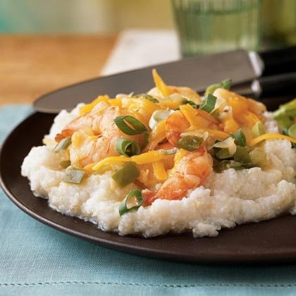 <p>Southern Shrimp and Grits</p>