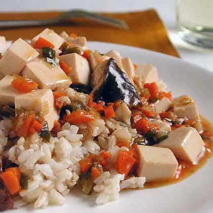 Tofu and Mushrooms Recipe