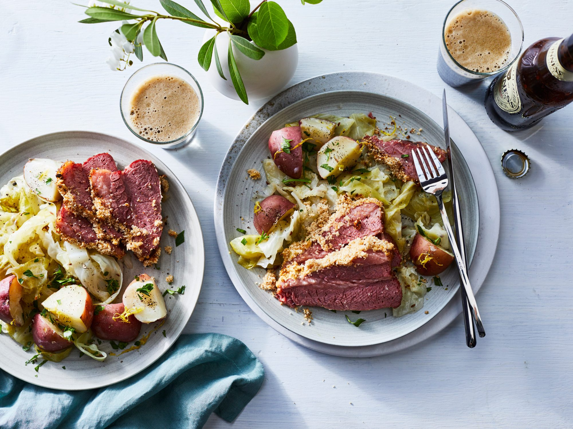 Corned Beef and Cabbage Dinner image