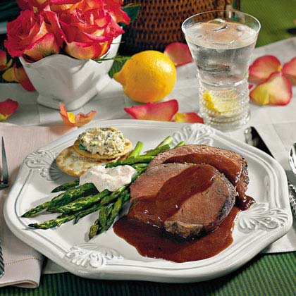 Beef Tenderloin With Henry Bain Sauce Recipe - 0 | MyRecipes