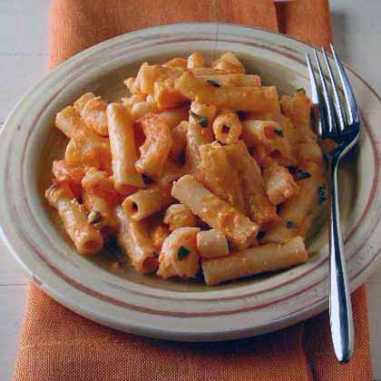 Baked Ziti with Shrimp and Scallops