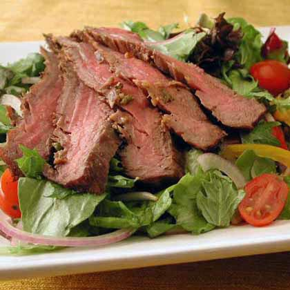 Southeast Asian Grilled Beef Salad Recipe | MyRecipes