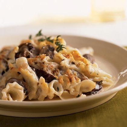 Mushroom Rigatoni Bake