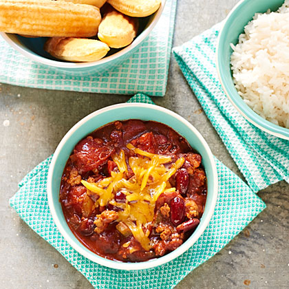<p>Twenty-Minute Chili</p>