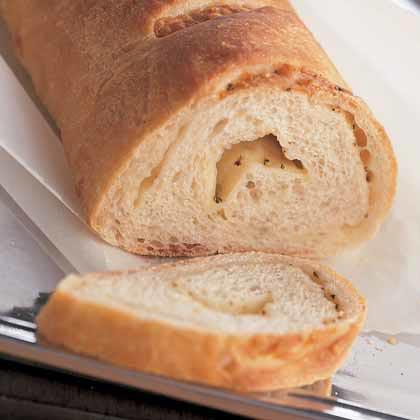 Two-Cheese Oregano Bread