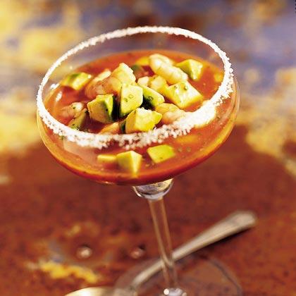 Avocado-Shrimp Cocktail