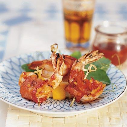 Barbecued Bacon ShrimpRecipe