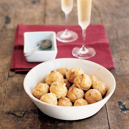 Salt-and-Pepper Cheese Puffs (Gougères) Recipe