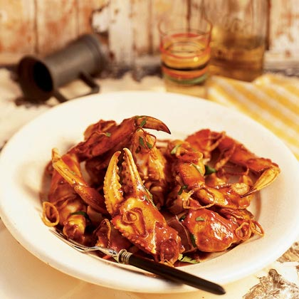 Cracked Crab with Tamarind Sauce Recipe